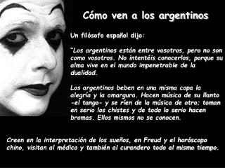 Un filósofo español dijo: