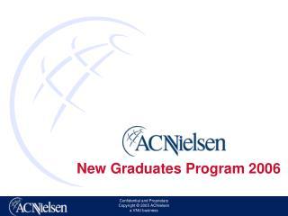 New Graduates Program 2006