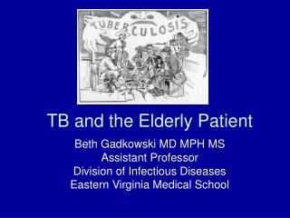 TB and the Elderly Patient