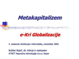 Metakapitalizem