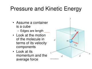 Pressure and Kinetic Energy