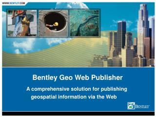 Bentley Geo Web Publisher