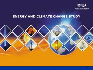 ENERGY AND CLIMATE CHANGE STUDY