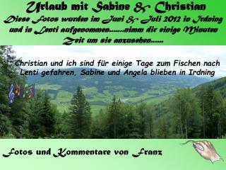Fotos und Kommentare von Franz