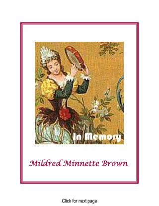 Mildred Minnette Brown