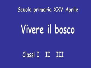 Scuola primaria XXV Aprile