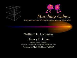 Marching Cubes: