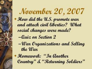 November 20, 2007