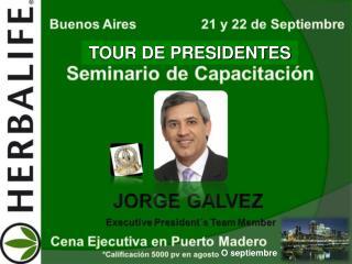 TOUR DE PRESIDENTES