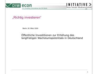 """""""Richtig investieren"""""""