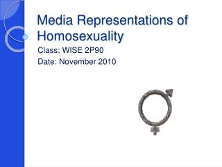 Media Representations of Homosexuality