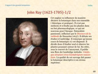 John Ray (1623-1705)-1/2