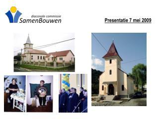 Presentatie 7 mei 2009