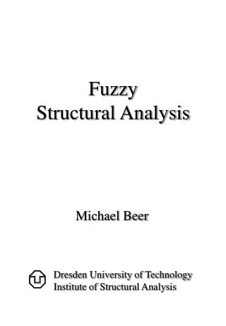 Fuzzy Structural Analysis