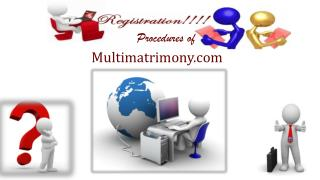 Tamil Multimatrimony Registration Procedures