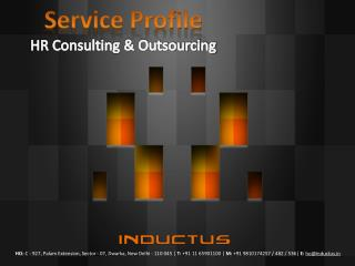 Service Profile HR Consulting & Outsourcing