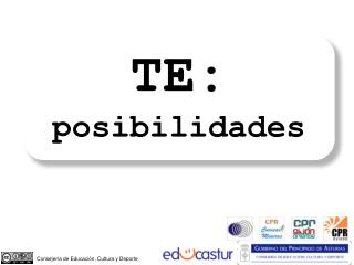 TE: posibilidades