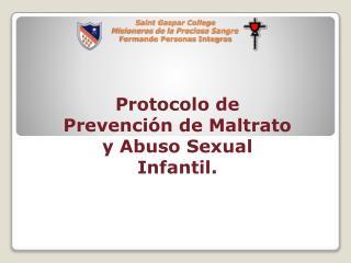 Saint Gaspar College Misioneros de la Preciosa Sangre Formando Personas Integras