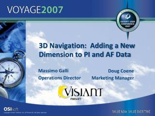 3D Navigation:  Adding a New Dimension to PI and AF Data
