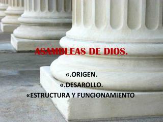 ASAMBLEAS DE DIOS.