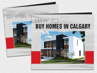 Why to find Homes for Sale in Calgary