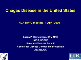 Chagas Disease in the United States