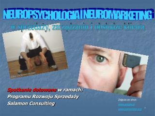 Spotkanie dotowane  w ramach: Programu Rozwoju Sprzedaży Salamon Consulting