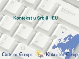 Kontekst u Srbiji i EU