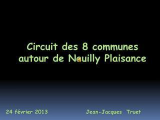 Circuit des 8 communes autour de Neuilly Plaisance