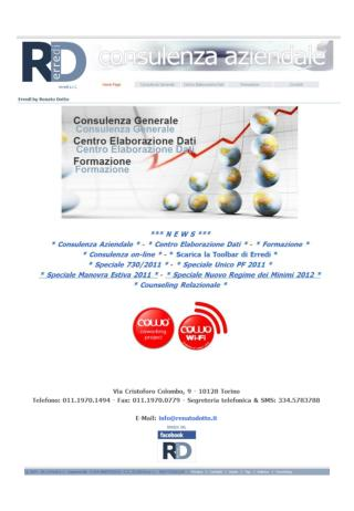 ERREDI SRL unipersonale P.I./C.F./R.I. 08807010015 – REA Torino 1002195 – C.S. 25.000,00 € i.v.