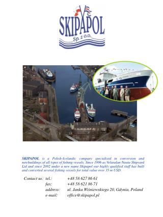 Contact us: tel.:        +48 58 62 7 86 61 fax:        +48 58 621  86 71