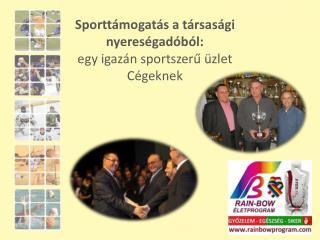 Sporttámogatás a társasági nyereségadóból:  egy igazán sportszerű üzlet Cégeknek