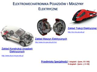 Elektromechatronika Pojazdów i Maszyny Elektryczne