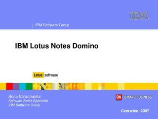 IBM Lotus Notes Domino
