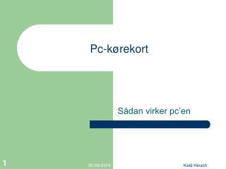 Pc-kørekort