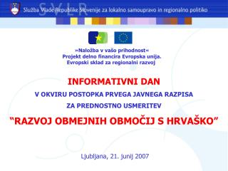 Ljubljana, 21. junij 2007