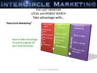 THE LAST FRONTIER  LOCAL and MOBILE SEARCH Take advantage with…