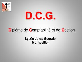 D.C.G.