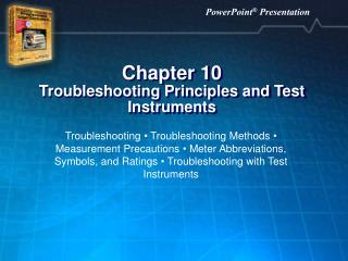 Chapter 10 Troubleshooting Principles and Test Instruments