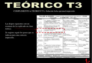TE�RICO T3