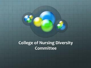 College of Nursing Diversity Committee