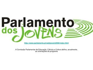 parlamento.pt/webjovem2008/index.html