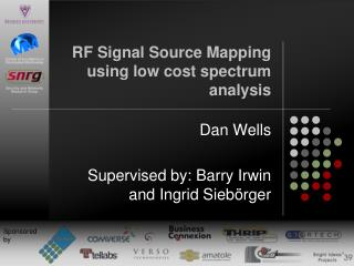 RF Signal Source Mapping using low cost spectrum analysis