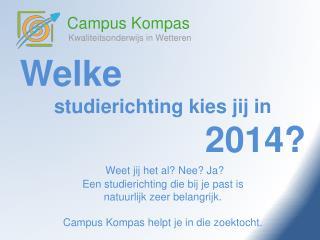 Campus Kompas Kwaliteitsonderwijs in Wetteren
