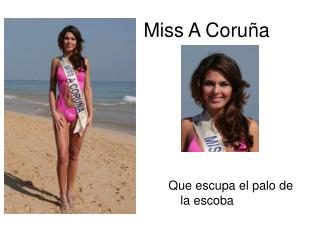 Miss A Coruña
