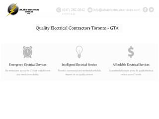 Toronto Electrician, Electrician Toronto, Electrical Compani