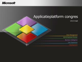 Applicatieplatform congres 12 & 13  maart