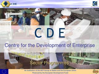 Sector Programme approach