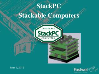 StackPC  Stackable Computers