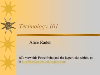 Technology 101